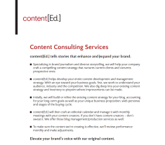 Contented[Ed.] Services